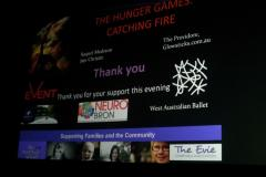 The Evie Charitable Association - Hunger Games: Catching Fire Movie Fundraiser 2013